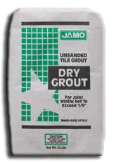 Grout: Non-Sanded Grout 25 Lb, Buff. Part # 111024