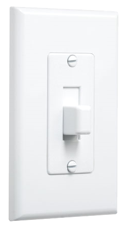 Switch Decorator Cover-Up, White. Part # 2570W.