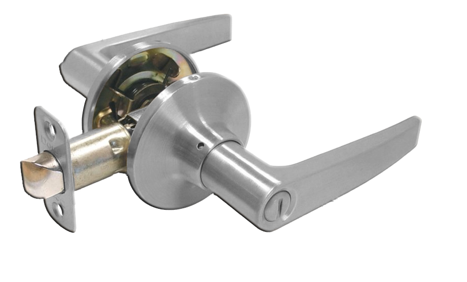 Passage, Mortar Lever, Satin Nickel. Part # 6412-15