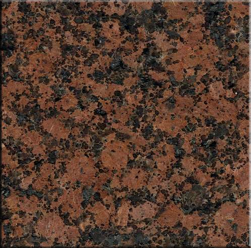 "Granite: Bar Top 98"" x 16, Baltic Red. Part # PD-BR-BT9816"