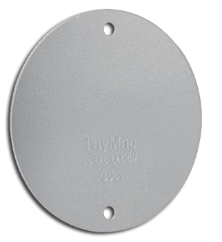 Round Blank Wall Plate, Stainless Steel. Part # BC300S.