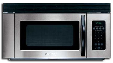"""Microwave: Frigidaire Hood Combo, 30"""", Stainless Steel. Part # FMV156DC"""