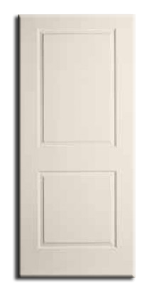 "Interior H/C 2 Panel Pre Hung Door 36"" x 80"" x 1-3/8"", Primed RH"
