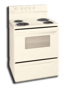 "Range: Frigidaire Mono Electric, 30"" . Part # XFEF3005LQ"