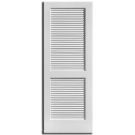 2-0 x 6-8 Louver Interior Door, Primed
