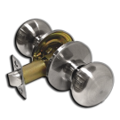 Passage: Portland Knob, Satin Nickel. Part # 6903-US15