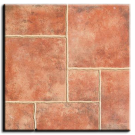 "Floor Tile, Exterior: Avila Cotto, 18"" x 18"" (11.25 sqft/box). Part # AVILA GR COTTO"