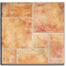 "Floor Tile, Exterior: Avila Teja, 18"" x 18"" (11.25 sqft/ Box). Part # CRI-AVMA"