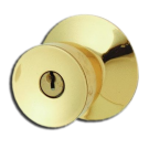 "Entry Lock: Keyed Lock 1-3/8"" to 1-3/8"", Satin Nickel. Part # BEL-605"