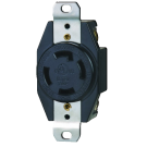Power Receptacle: 125/250 VAC 3 Pole-4 Wire, NEMA 10-50R, 50 amp. Part # CO-1258 BK/ 337998.