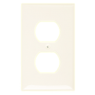 One Gang Duplex Receptacle, White. Part # CP 3001 W.