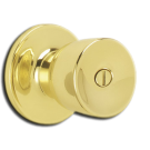 "Privacy: Lock 1-3/8"" to 1-3/4"" Door Range, Satin Nickel. Part # DEXTER"