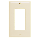 Wallplate One Gang Switch, Ivory. Part # DP 2001 I.