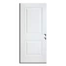"Exterior 2-Panel Metal Pre Hung Door 30"" x 80"", Primed LH"