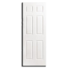 "Interior H/C 6 Panel Slab Door 32"" x 80"" x 1-3/8"", Primed"