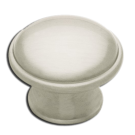 Knob: Round 36mm, Satin Nickel. Part # PN0836-BSN-C