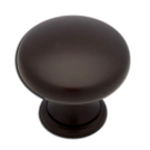 Knob: Round 1-1/4, Dark Oil Rubbed Bronze. Part # PN2001-OB3-C