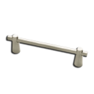 Pull: Conical 128mm, Stainless Steel. Part # PN6491-SS-C