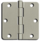 "Hinges: 3.5"" x 3.5"" x 1/4"" Steel, Primed. Part # S35R4BK2D-US2D"