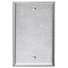One Gang Stainless Steel Plate. Part # SSBP01.