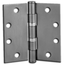 "Hinges: 4.5"" x 4.5"" Template Butt Hinge, 3/box, Chrome. Part # TBH30"