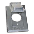 Cover: One Gang Vertical Single Receptacle Cover. Part # WPCI-V.